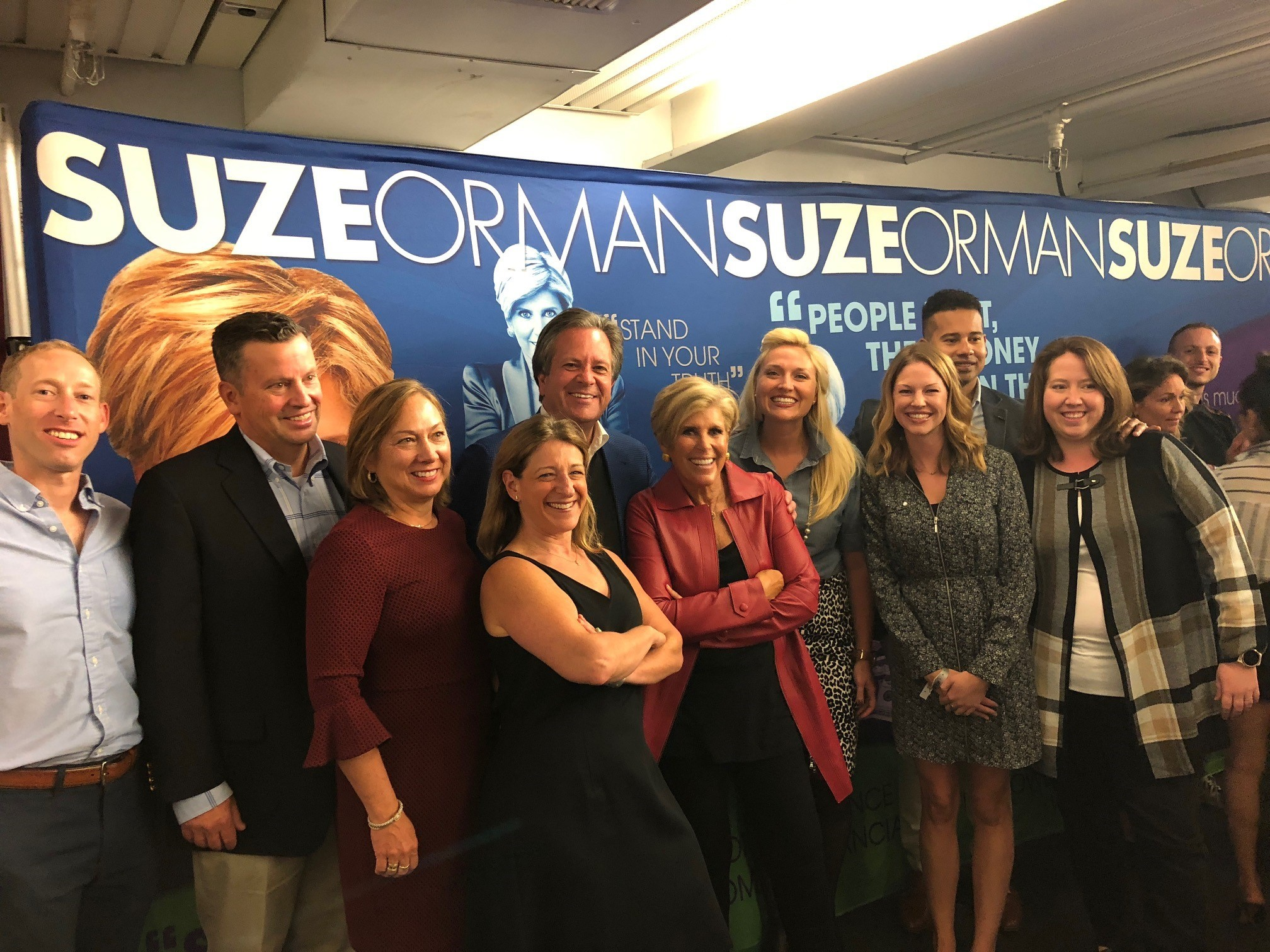 Suze Orman at the Apollo Theatre